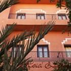 Hotel Zaghro, la façade