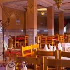 Le restaurant de l'hôtel Zaghro